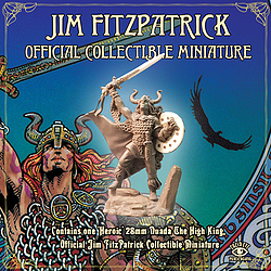Jim FitzPatrick Official Collectible Miniature - Nuada The High King
