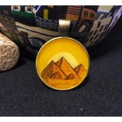 Hex medallion