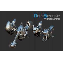 Sci-fi motos